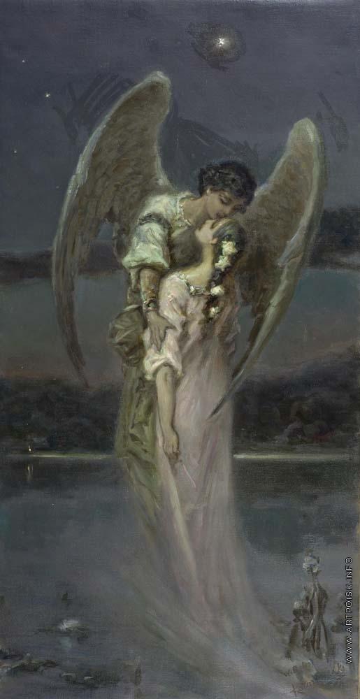 девушка и ангел картинки
