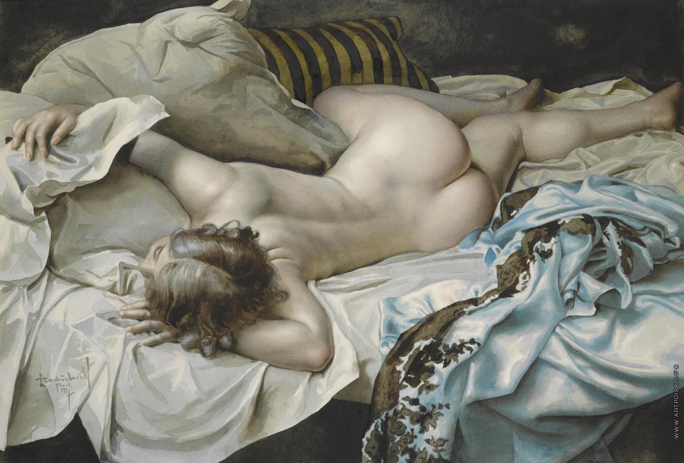 Художница рисует голого мужика, Дочь художница рисует с натуры папин член, сосёт его 5 фотография