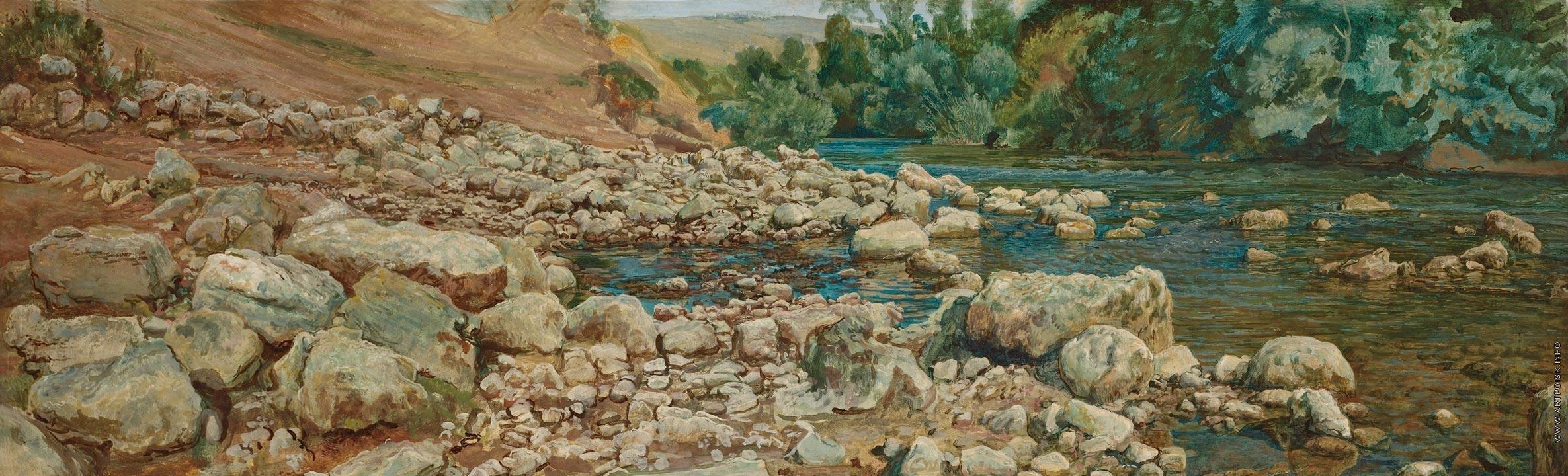 камни берег фото