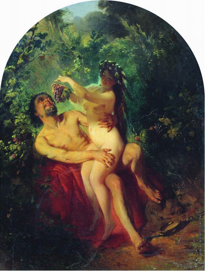 Сатиры и нимфы секс