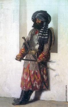 Верещагин В. В. Афганец