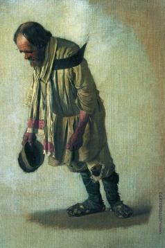 Верещагин В. В. Бурлак с шапкою в руке