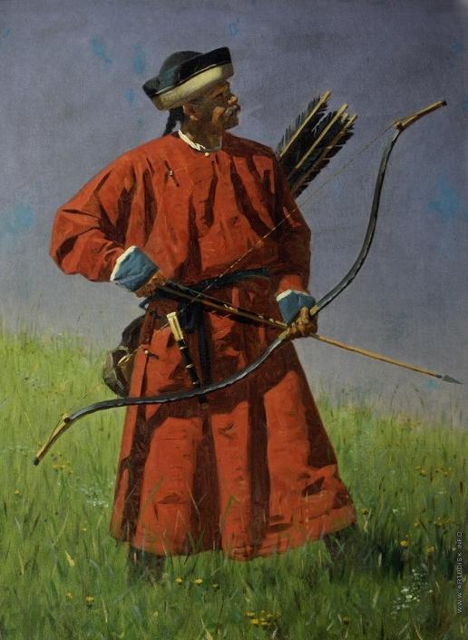 Верещагин В. В. Бухарский солдат (сарбаз)