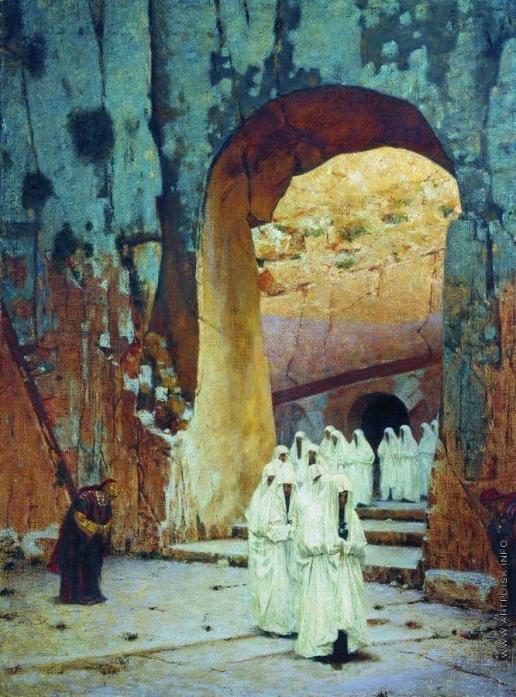 Верещагин В. В. В Иерусалиме. Царские гробницы