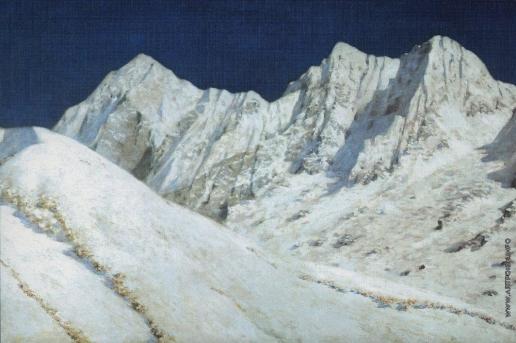 Верещагин В. В. В Индии. Снега Гималаев