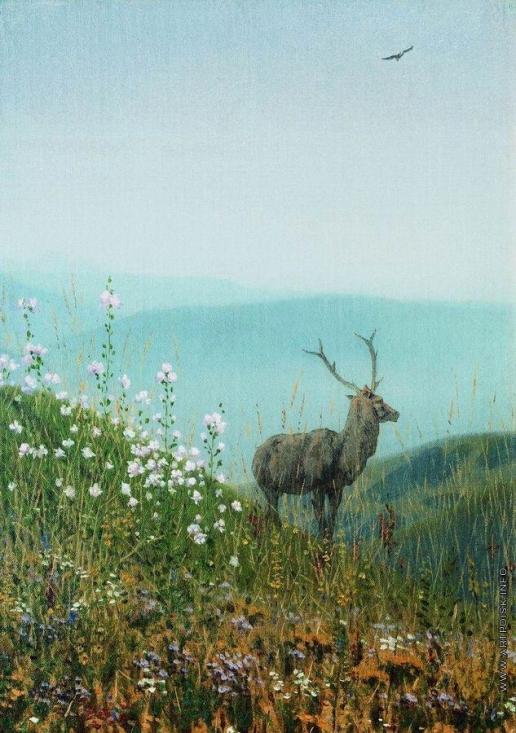 Верещагин В. В. В горах Алатау