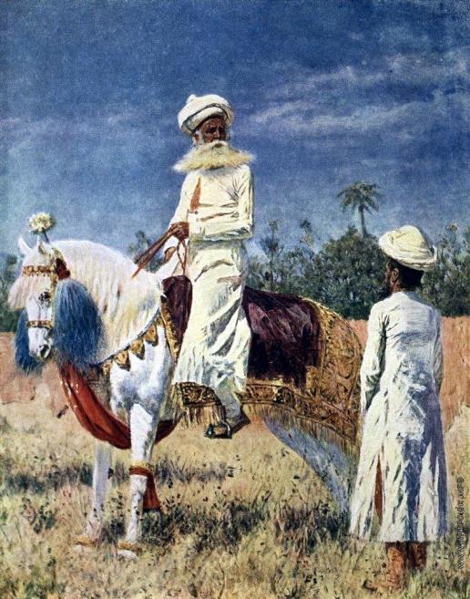 Верещагин В. В. Всадник в Джайпуре