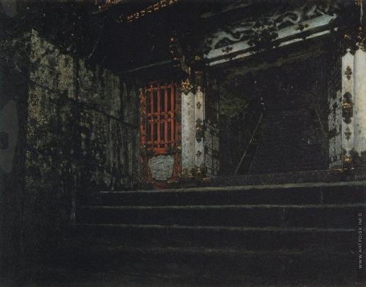 Верещагин В. В. Вход в храм Никко