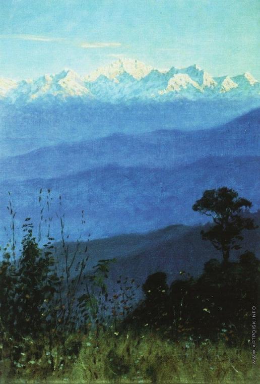 Верещагин В. В. Гималаи вечером