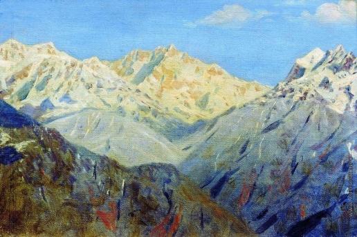 Верещагин В. В. Гималаи. Главная вершина