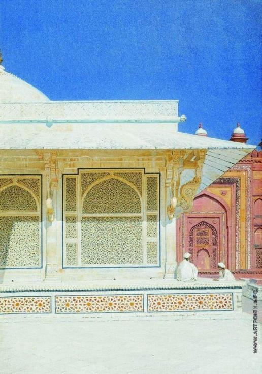 Верещагин В. В. Гробница Шейха Селима Чишти в Фатехпур-Сикри