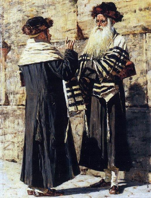 Верещагин В. В. Два еврея
