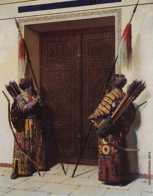 Верещагин В. В. Двери Тимура (Тамерлана)