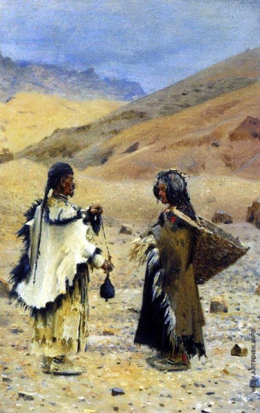 Верещагин В. В. Жители Западного Тибета