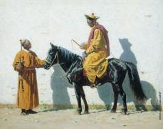Верещагин В. В. Калмыцкий лама