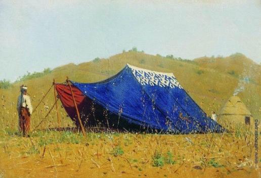 Верещагин В. В. Китайская палатка