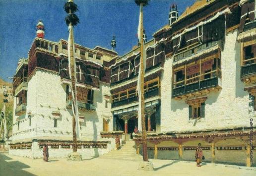 Верещагин В. В. Монастырь Хемис в Ладаке