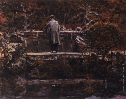 Верещагин В. В. На мосту