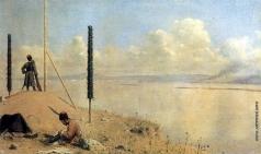 Верещагин В. В. Пикет на Дунае