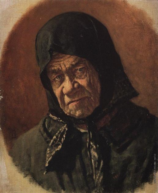 Верещагин В. В. Старуха-нищенка девяносто шести лет