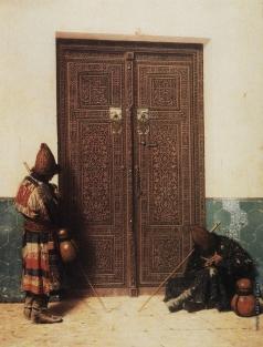 Верещагин В. В. У дверей мечети