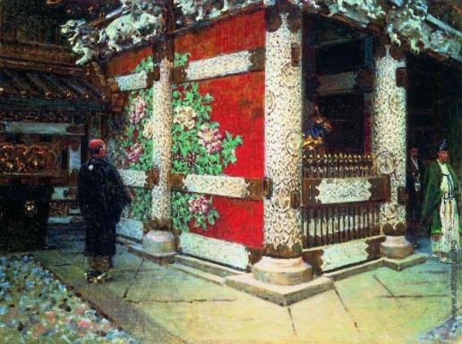 Верещагин В. В. Шинтоистский храм в Никко