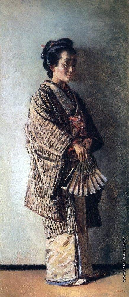 Верещагин В. В. Японка