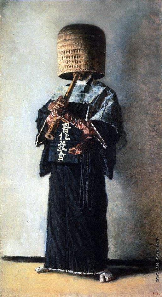 Верещагин В. В. Японский нищий