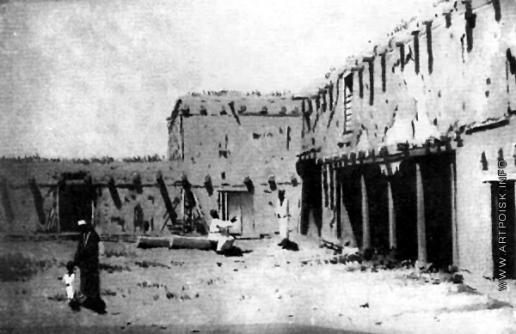 Верещагин В. В. Конюшни домика в Самарканде