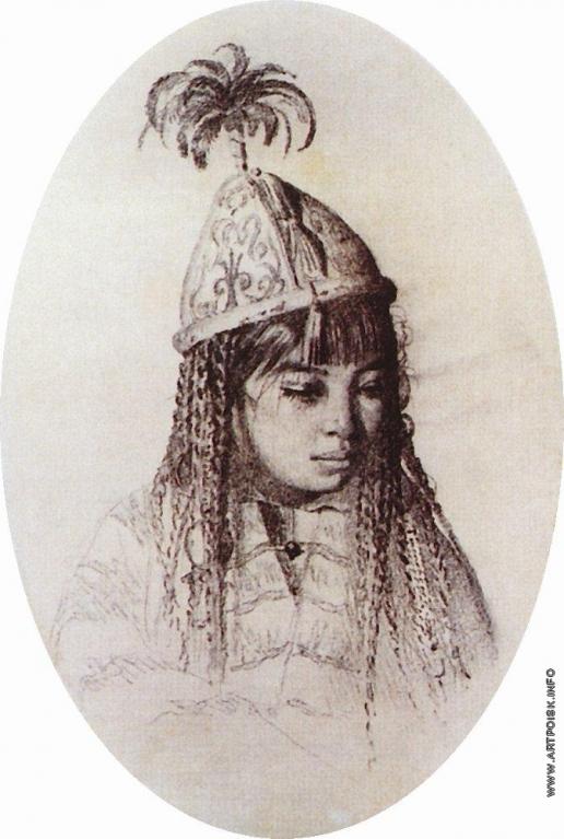 Верещагин В. В. Киргизская девушка