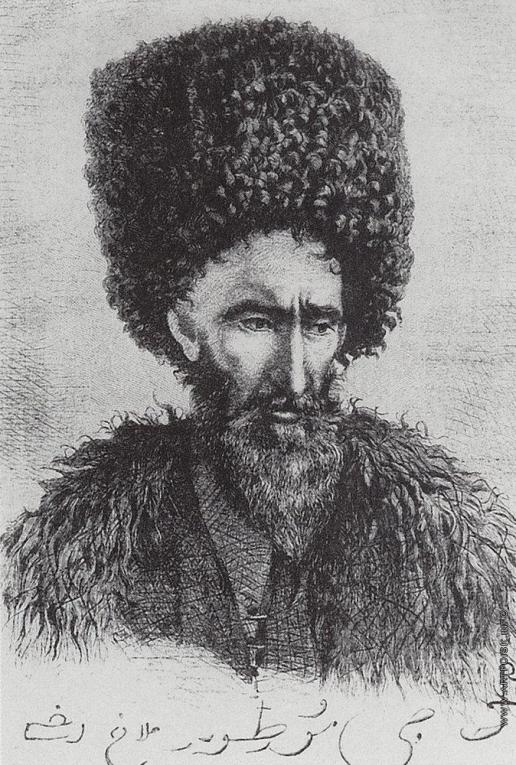 Верещагин В. В. Лезгин Хаджи Муртуз-ага из Дагестана