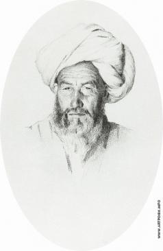 Верещагин В. В. Узбек, старшина (аксакал) деревни Ходжагент