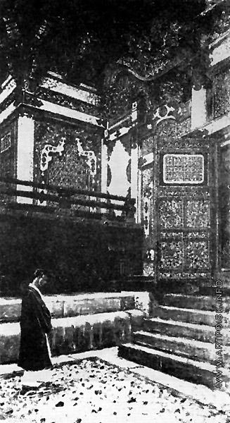 Верещагин В. В. Буддийский храм в Никко
