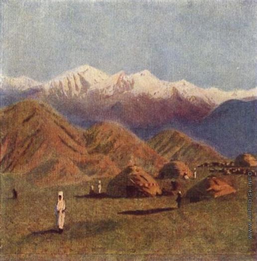 Верещагин В. В. Киргизские кочевья
