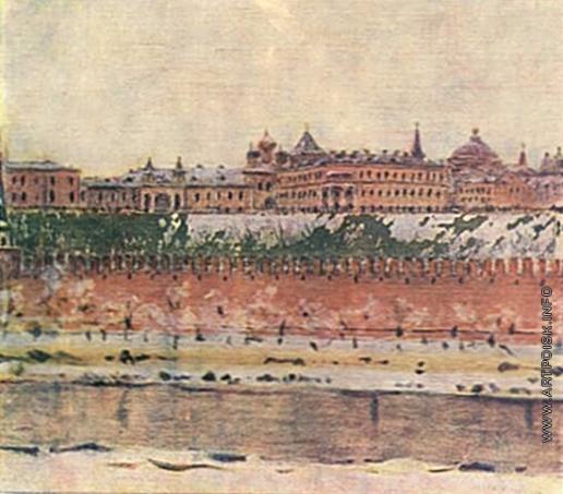 Верещагин В. В. Московский Кремль зимой