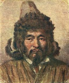 Верещагин В. В. Казах в меховой шапке