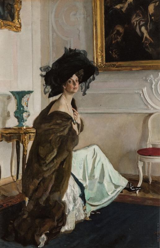 Серов В. А. Портрет княгини О.К. Орловой