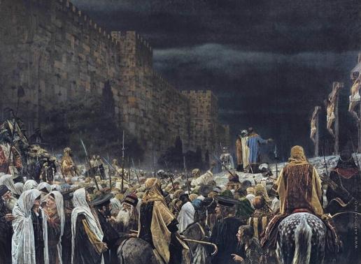Верещагин В. В. Распятие христиан у римлян