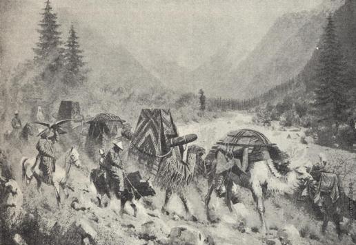 Верещагин В. В. С гор на долины