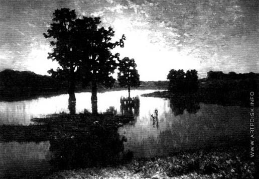 Волков Е. Е. Закат (Вечер)
