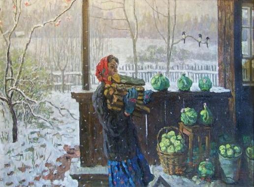 Ткачев С. П. Первый снег