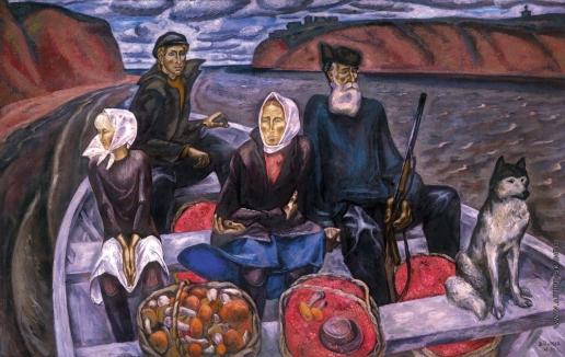 Попков В. Е. Сентябрь на Мезени