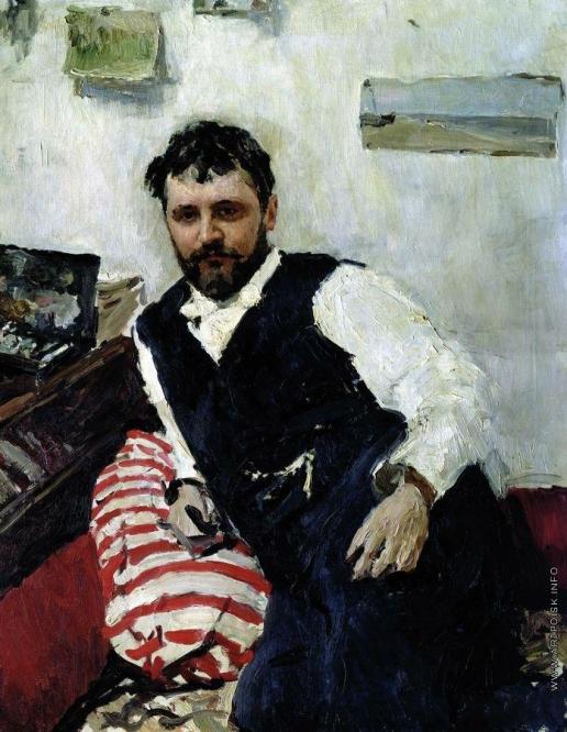 Серов В. А. Портрет художника К.А.Коровина