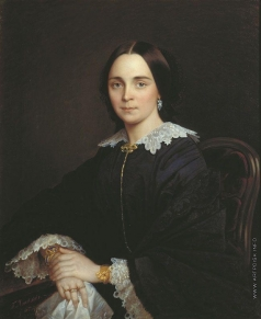 Яковлев Г. И. Женский портрет
