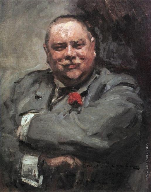 Коровин К. А. Портрет Н.Д. Чичагова