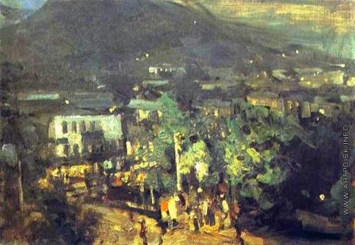 Коровин К. А. Южная ночь