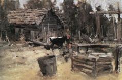 Коровин К. А. Двор