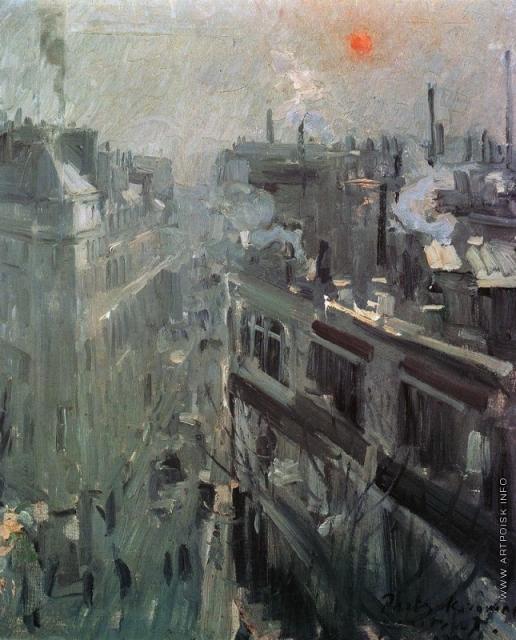 Коровин К. А. Париж. Утро