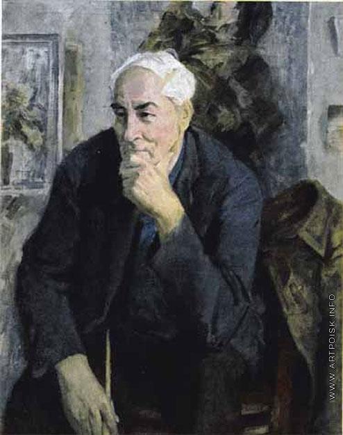Максимов К. М. Портрет художника М.В. Добросердова