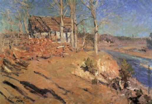Коровин К. А. Осенний пейзаж